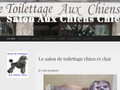 Salon de toilettage chien & chat -Aux Chiens Chics